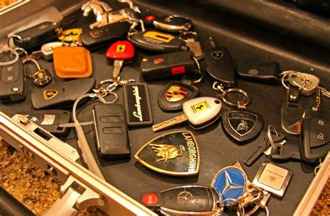 Exotic Car Key Collection Pictures  Ed Bolian  Junk Pile