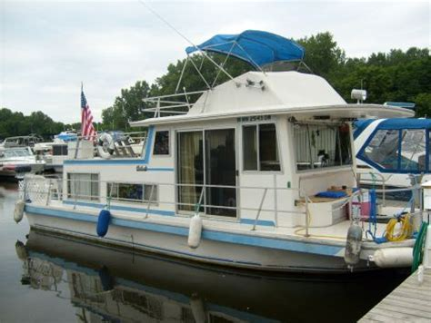 Used Boat Parts Burnsville Mn by 1978 37 Foot Carlcraft Carlcraft Houseboat For Sale In