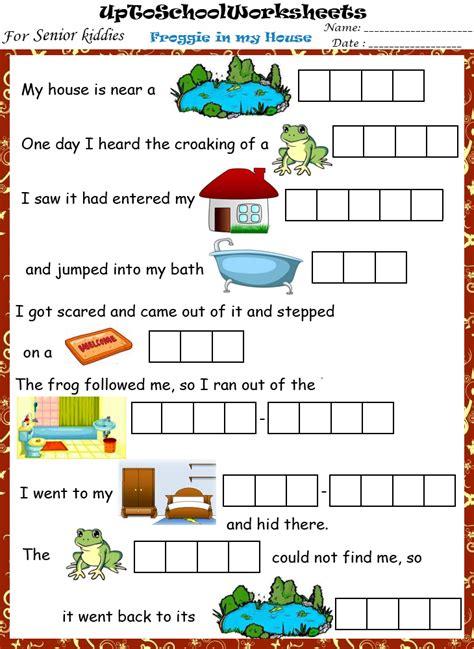 kg vocabulary worksheets cbse icse school