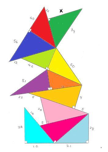 pythagoras pile   mrmawson teaching resources