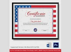 25 Images of Military Retirement Flag Certificate Template