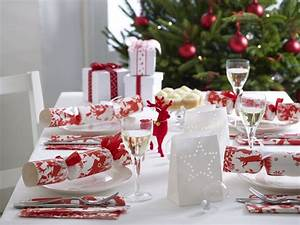 Tischdeko Rot Weiß : tischdeko zu weihnachten 53 ideen f r eine tolle stimmung ~ Indierocktalk.com Haus und Dekorationen