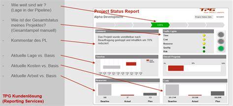 pmo berichte fuer projekt und portfoliomanagement
