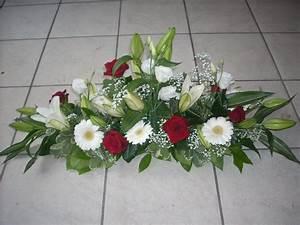 centre de table mariage table rectangle recherche google With chambre bébé design avec composition fleur mariage