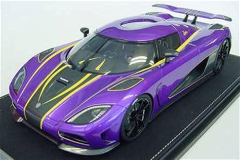 koenigsegg purple amiami character hobby shop 1 18 koenigsegg agera r