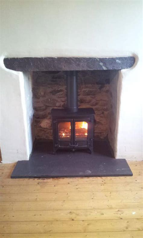 Mortar Mix For Fireplace by Rendering A Fireplace For A Wood Burning Stove The