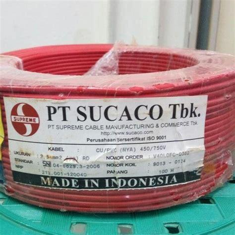 jual kabel listrik power nym 2x2 5 supreme tembaga kawat per 50 meter cek harga di pricearea