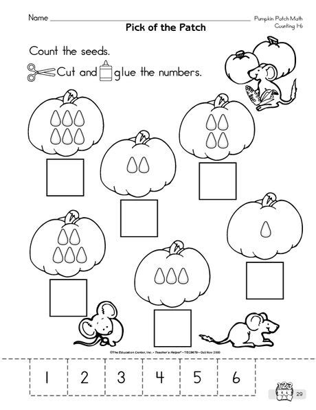 recognizing numbers 1 6 numbers pinterest math math worksheets and kindergarten math