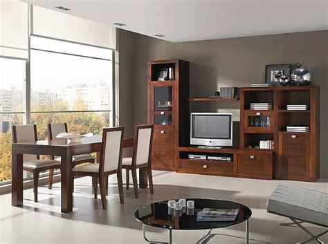 muebles de salon madera nogal en  muebles de salon
