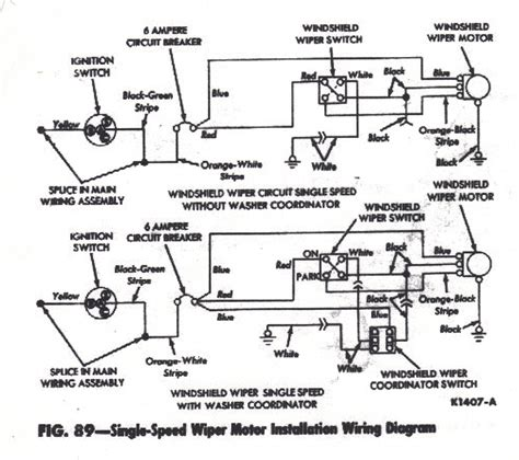 windshield wiper wiring diagram wiring diagram and