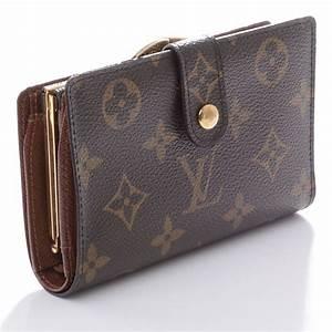 LOUIS VUITTON Monogram French Purse Wallet 45580