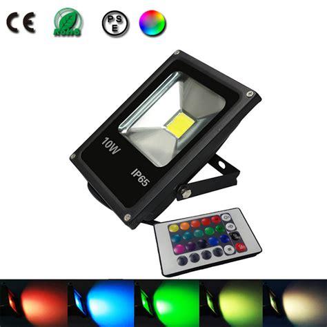 10w spot led projecteur led eclairage exterieur luminaire lumiere dimmable rgb color le