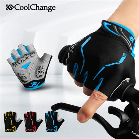 coolchange sarung tangan sepeda half finger sporty size l