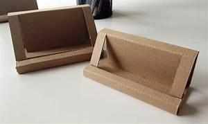 Runaway prototype design cardboard business card holder for Cardboard rack card holders