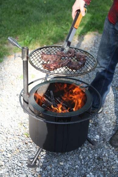 double flame smoke  firepit camoose masonry supply