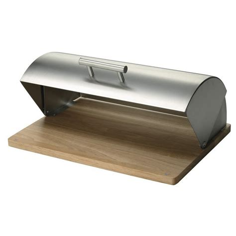 tablier de cuisine rigolo boite à design inox bois hévéa zeller