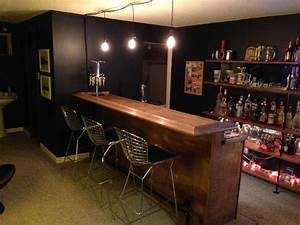 Back to the trees basement bar for Diy basement bars
