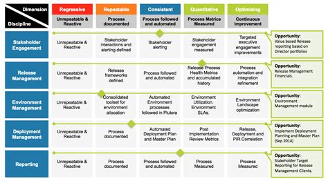 plutoras maturity model  release management