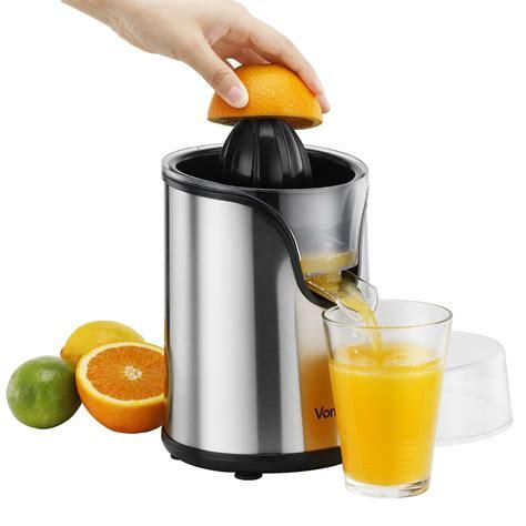 electric juicer citrus fruit vonshef