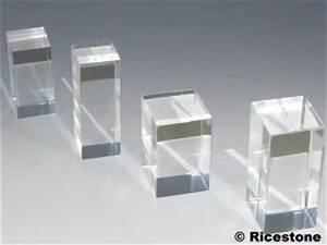 Vitrine Pour Petit Objet : support pr sentoir cube plaque cylindre acrylique pour ~ Zukunftsfamilie.com Idées de Décoration