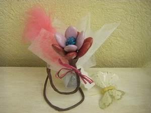 fleurs de dragees avec ballotin pour mariage designdragees With chambre bébé design avec fleurs pour dragées