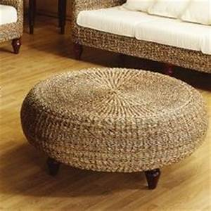 1000 images about round ottomans on pinterest round With coastal ottoman coffee table