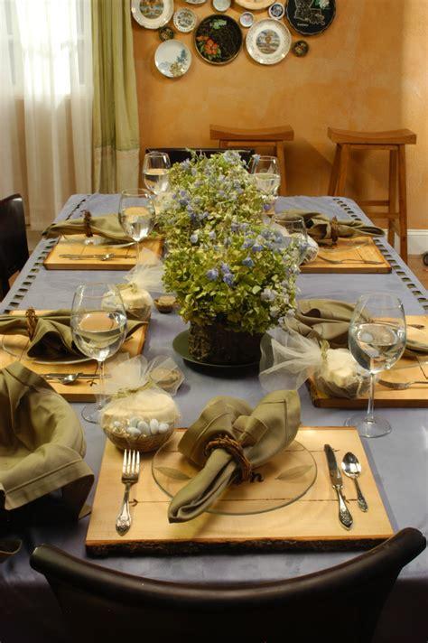 weddings diy rustic bridal brunch the table and flowers