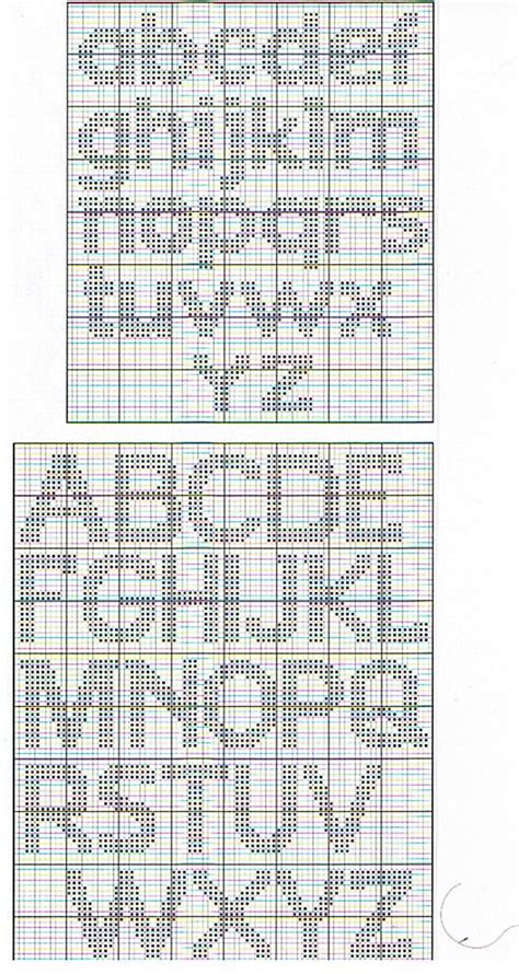 charted alphabets including  case  images