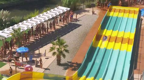 Aqualand  France Cap D'agde  The Wave Attraction Youtube