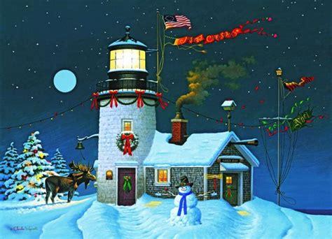 lighthouse christmas cards lighthouse and nautical