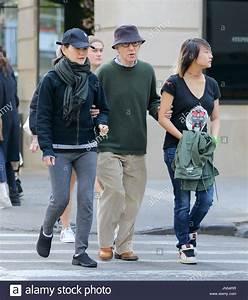 Woody Allen, Soon-Yi Previn and Bechet Allen. Woody Allen ...