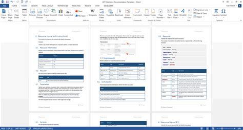 Restweb Api Documentation Template (ms Word