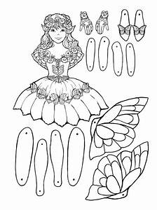 garden fairy puppet wwwpheemcfaddellcom kid stuff With fairy cut out template