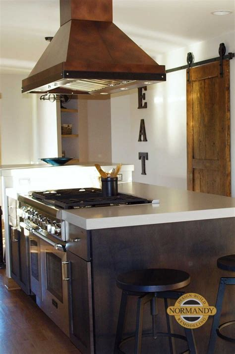 Kitchen Island Vent Ideas by Up To The Minute Kitchen Ideas Metal Range Hoods