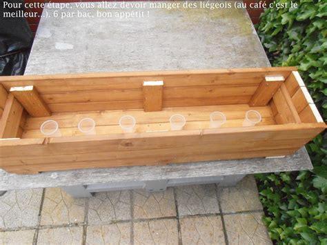 fabriquer bac a fleur bois obasinc
