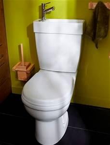 Cuvette Wc Bois : d co wc peinture vert anis avec lave main int gr cuvette ~ Premium-room.com Idées de Décoration