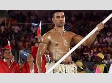 Tonga's Flag Bearer Becomes Internet Sensation 2016 Rio