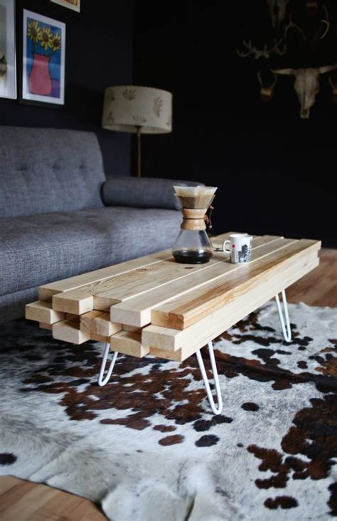 cool homemade coffee table diy build home gardening ideas