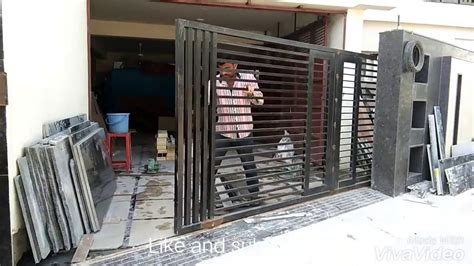 sliding gate design    youtube