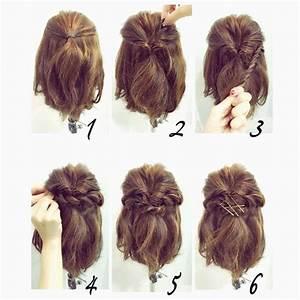 Coiffure Simple Femme : coiffure cheveux mi long femme simple le7emecontinent ~ Melissatoandfro.com Idées de Décoration