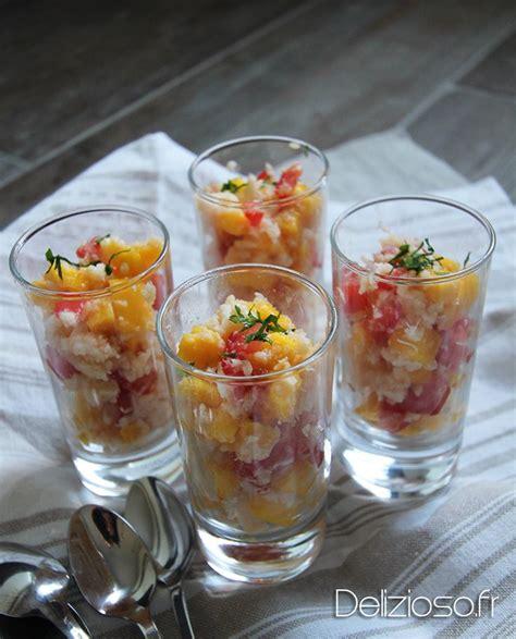 cuisine actuelle noel verrines de crabe à la mangue verrine pour noel cuisine