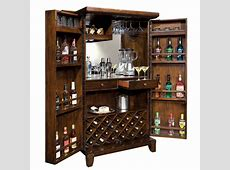 Home Bar & Wine Cabinet Howard Miller Rogue Valley 695122