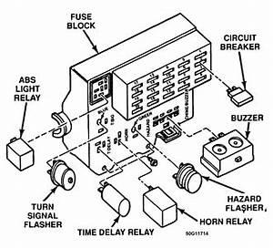 i need a fuse box diagram for my 95 dodge dakota fixya With cluster wiring diagram on dodge ram 1500 turn signal fuse box diagram