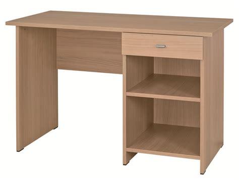 x bureau table bureau rectangulaire morphea avec caisson ouvert à