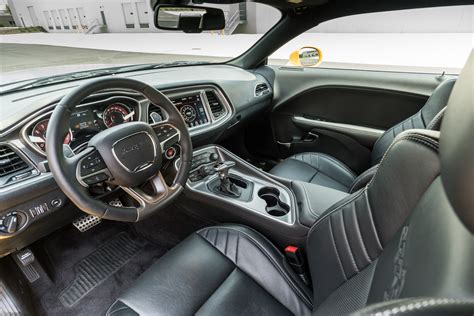 hellcat challenger 2017 interior 2017 dodge challenger srt hellcat review stung by a