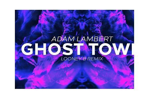 download adam lambert ghost town mp3 free