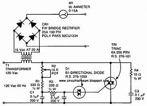 Simple Battery Charger Circuit Diagram