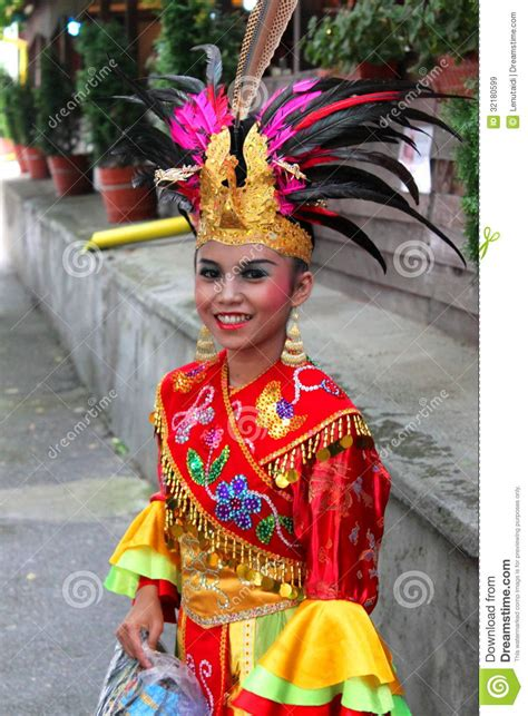 Indonesian Girl Editorial Stock Image Image 32180599