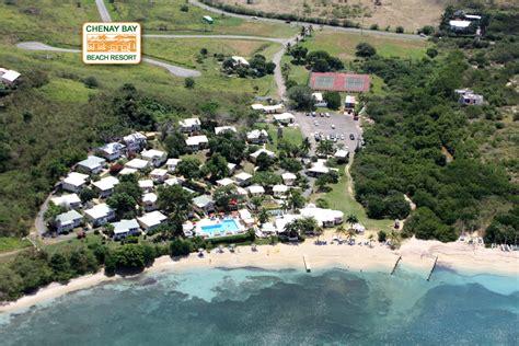 Chenay Bay, St. Croix USVI | Aerial View