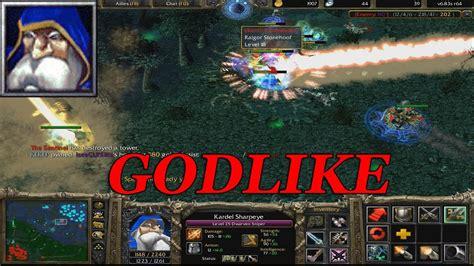 dota 1 sniper godlike gameplay warcraft 3 frozen